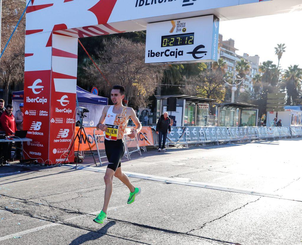Record de Europa 10k Valencia Ibercaja