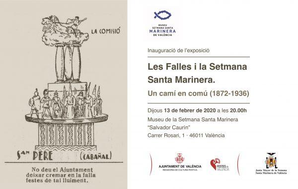 """El Museo de la Semana Santa Marinera acoge la exposición de """"Fallas y Semana Santa, un camino en común"""""""
