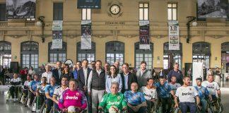 La Escuela de Fútbol en Silla del Valencia CF acerca el A-balla los valencianos en la Estación del Norte