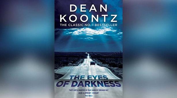 """Portada de la edición americana de """"Los ojos de la oscuridad"""""""