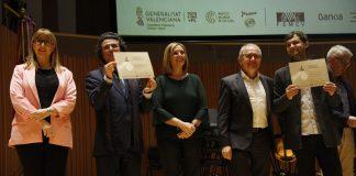 Premios del IV Concurso Bankia de Orquestas de la Comunitat Valenciana