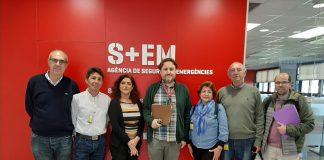 El 112 Comunitat Valenciana y el teléfono de la esperanza colaborarán ante las llamadas de alertas de suicidio