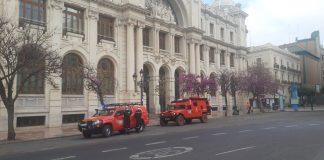 La UME se despliega en Valencia