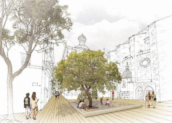 Plaza de Brujas, todos los detalles de su remodelación