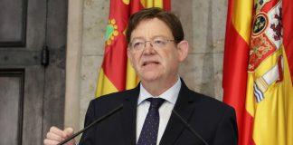 El President Puig comparece en directo a partir de las 14:30