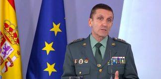 General de la Guardia Civil José Manuel Santiago