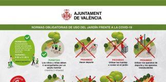 """""""Las imágenes de los parques de Valencia demuestran la continua improvisación de Ribó en la crisis del COVID19"""""""