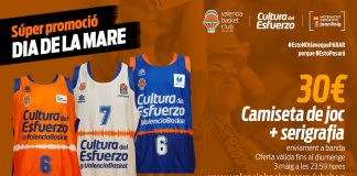 Valencia Basket lanza una promoción especial por el Día de la Madre en su tienda on-line