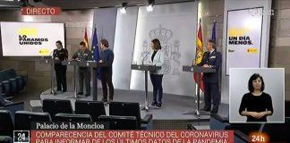 Santiago Abascal ,Alerta Democrática «La dignidad contra el Gobierno del bulo»