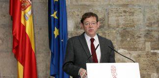 El president Puig advierte que este año caerá el PIB entre un 12-15% este año