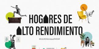 'Hogares de Alto Rendimiento', nuevo proyecto del COE, GO fit y la Fundación Trinidad Alfonso