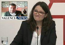 Mónica Oltra, Vicepresidenta del Consell,comparece en directo a partir de las 12:00