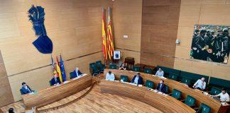 La Diputació aprueba por unanimidad aprovisionar a los municipios y estudiar fondos europeos para seguir haciendo frente a la crisis