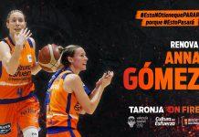 Anna Gómez continúa en el proyecto taronja