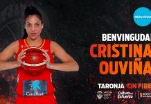 Cristina Ouviña, más calidad nacional para el proyecto taronja