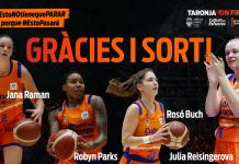 Agradecimiento jugadoras temporada 2019/20