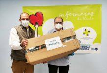 Magicseo dona gafas de protección al colegio de enfermería de Lérida