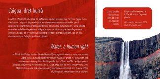 El agua protagoniza el nuevo cartel de la muestra 'Ante el cambio, cambiemos' de la Ciutat de les Arts i les Ciències