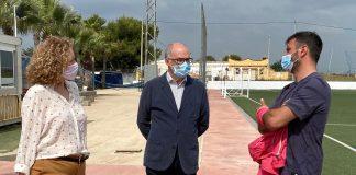 Fernando de Rosa y Amparo Folgado visitan los proyectos sociales de Nova Vida en Torrent