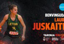 Laura Juskaite, talento lituano para el proyecto taronja