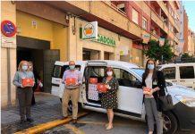 Mercadona dona 7.000 Kilos de alimentos a siete entidades sociales de la provincia de Valencia