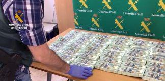 Operación Risala, La Guardia Civil detiene a 60 personas por estafar usando el timo de adelantar dinero para cobrar una herencia