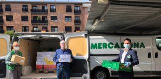 Mercadona reactiva la donación de alimentos al comedor social buñuelos de Gandía y dona más de 9.500 kilos a doce entidades de Valencia y Castellón