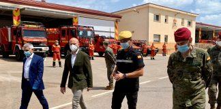 El presidente de la Diputación agradece a la UME su trabajo en los municipios valencianos