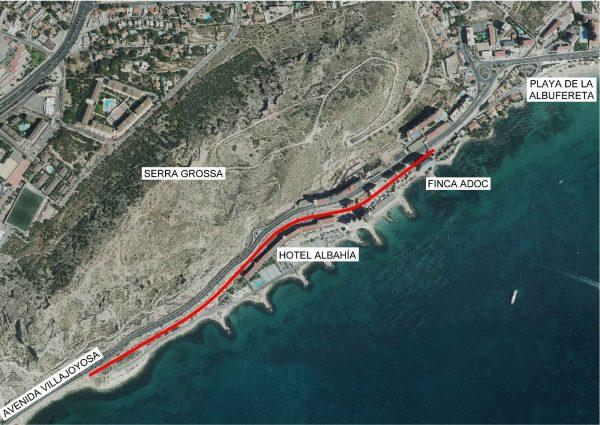 Obras Públicas inicia los trámites para construir la vía verde de La Cantera de Alicante