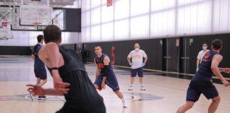 Valencia Basket empieza a entrenar en grupos en L'Alqueria del Basket