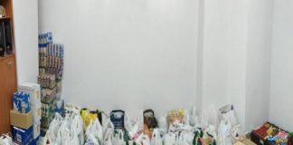 La Plataforma vecinal de Penyaroja consigue reunir 2.000 kg de comida para Cáritas