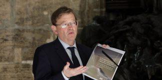 Puig presenta el Informe hecho por el IVIE que se toma como base para la reconstrucción de la economía valenciana