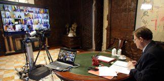El President Puig comparece en directo apartir de las 14:30