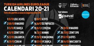 Valencia Basket abrirá la Euroliga 20-21 en casa ante el LDLC ASVEL Villeurbanne