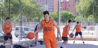 La cantera de Valencia Basket trabaja en distintos puntos de la ciudad