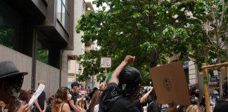El movimiento Black Lives Matter llega las calles de Valencia
