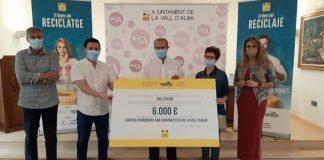 Generalitat, Ecoembes y Consorcio C2 de la provincia de Castellón entregan el premio de la campaña 'El Reto del Reciclaje'