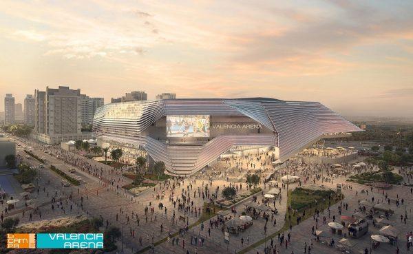 El Ayuntamiento de Valencia aprueba la concesión a Licampa 1617 S.L. del suelo donde construirá el Arena
