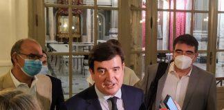 Fernando Giner critica que la peatonalización provisional de la Plaza del Ayuntamiento