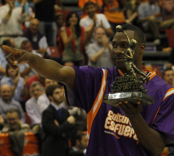 Flo Pietrus, el primer ganador del Trofeo al Esfuerzo, en 'ADN Taronja'