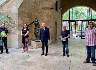 Los floristas valencianos mostrarán sus trabajos en espacios singulares de la provincia con ayuda de la Diputació