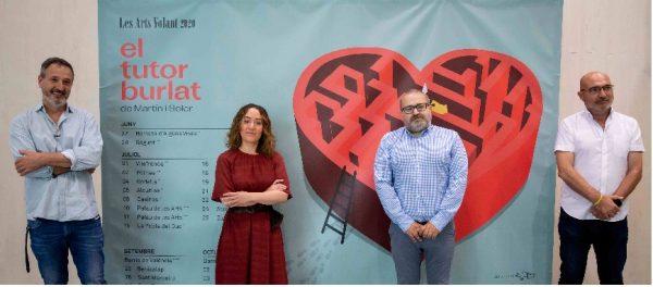 'Les Arts Volant' llevará 'El tutor burlat' de Martín i Soler por toda la geografía valenciana