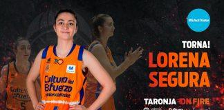 Lorena Segura, del Mur dels Somnis al proyecto taronja
