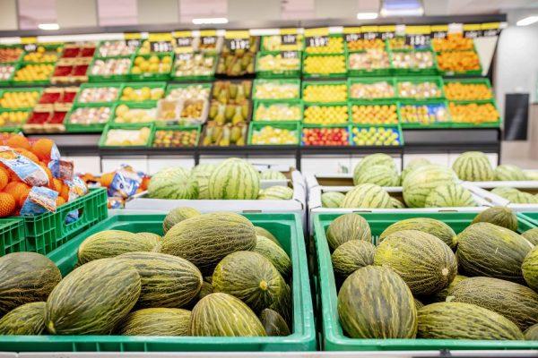 Melón disponible en la sección Fruta y Verdura de Mercadona