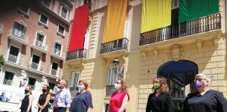 Diputacio reivindica los derechos LGTB+ y reafirma su compromiso con la educación en valores de democracia y tolerancia