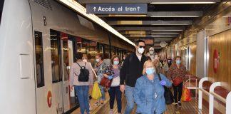 Metrovalencia recupera un 44% de viajeros al iniciar la nueva normalidad