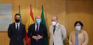 Toni Gaspar realiza una visita institucional a las Diputaciones de Jaén y Sevilla y al Ayuntamiento de Sevilla