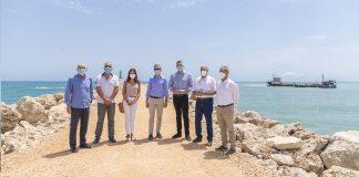 El Consell invierte 700.000 euros en Cullera para dragar la desembocadura del Xúquer