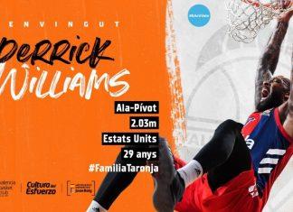 Valencia Basket alcanza un acuerdo con Derrick Williams para la próxima temporada