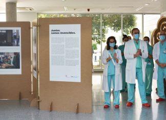 Ribera Salud homenajea a profesionales y pacientes con una exposición fotográfica simultánea del COVID en todos sus hospitales